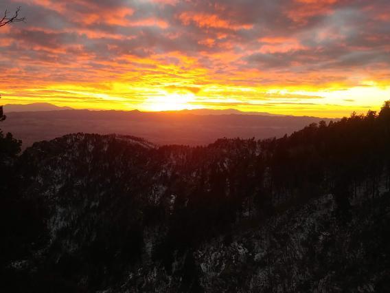 Mt. Graham Sunset